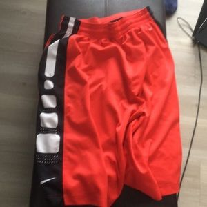 Nike team elite basketball shorts